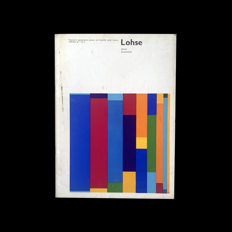 Richard Paul Lohse Stedelijk Museum Amsterdam, 1961