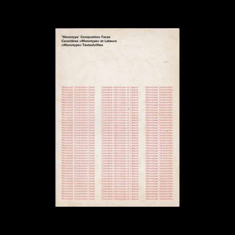 Monotype Composition Faces