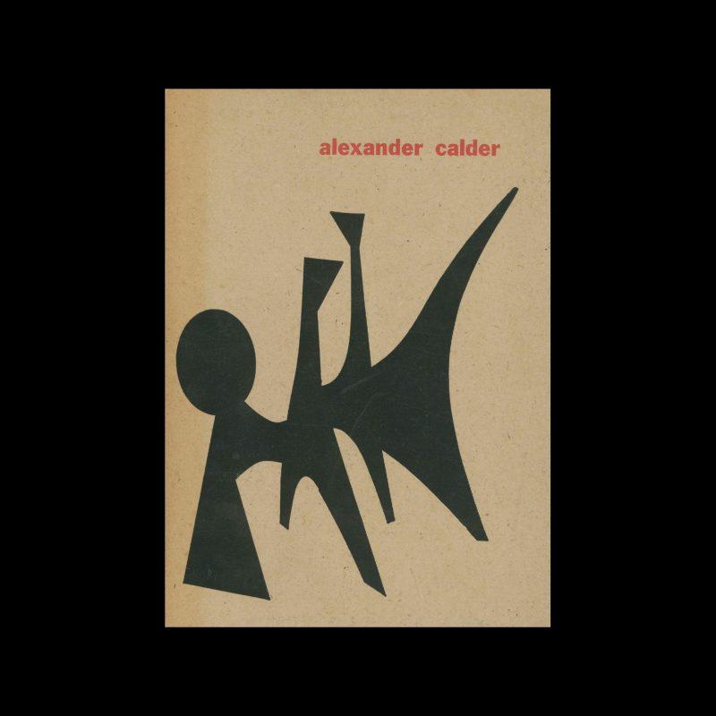 Alexander Calder, Stedelijk Museum, Amsterdam, 1959. Designed by Willem Sandberg.