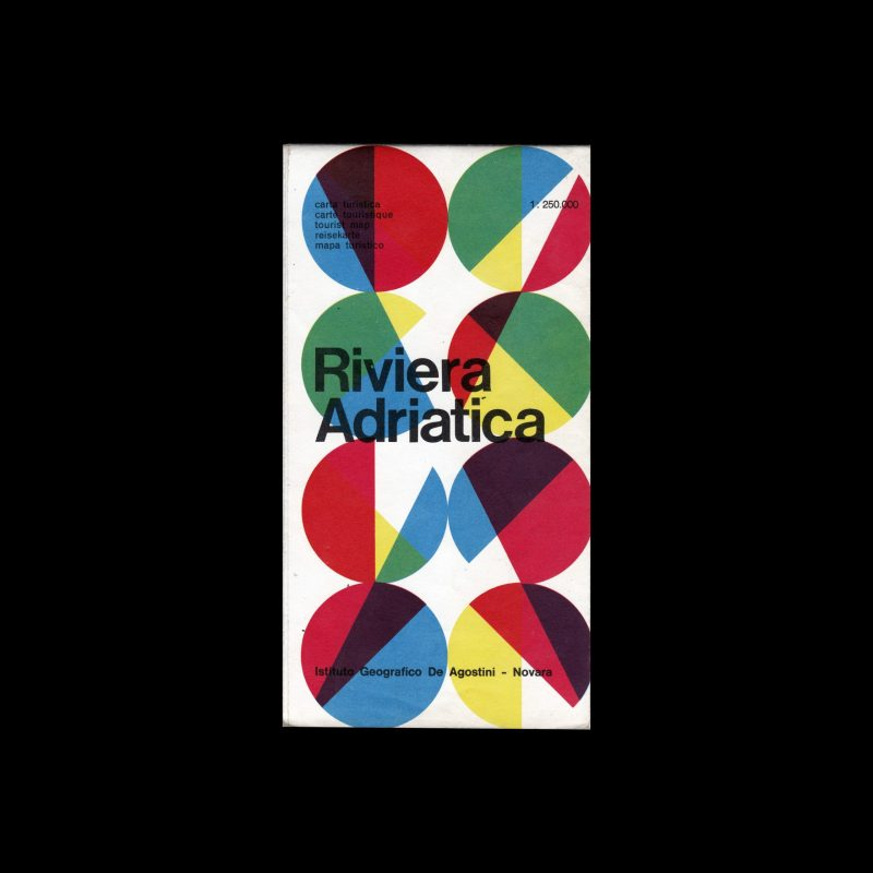 Riviera Adriatica travel guide designed by Max Huber